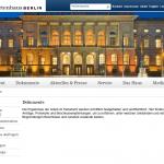 Berlin - Parlamentsdokumentation