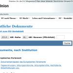 EU-Dokumente